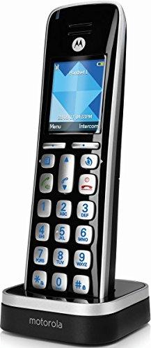 Motorola CD1HD_B Schnurlostelefon schwarz/silber