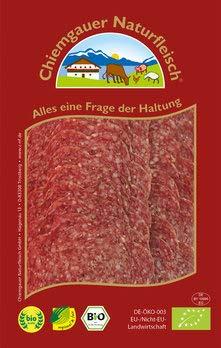 Chiemgauer Naturfleisch Bio Lammsalami geschnitten (6 x 70 gr)