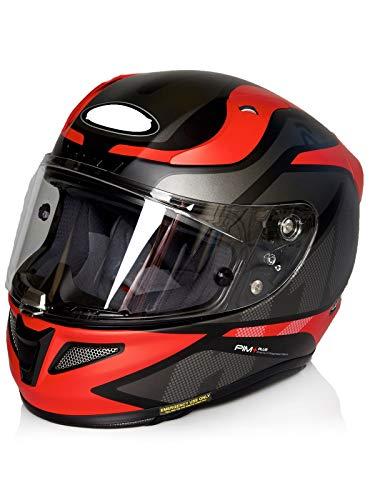 Casco Moto Hjc Rpha 11 Deroka Rosso (L , Rosso)