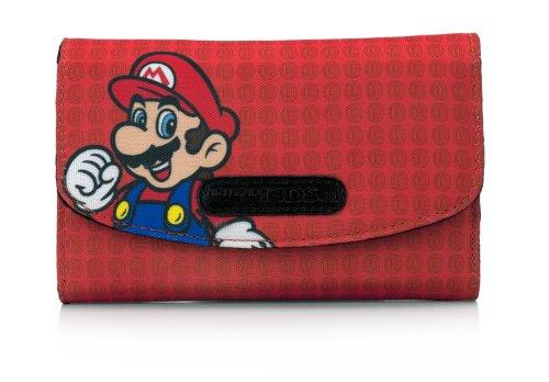 Nintendo 3DS XL - Tasche Lux Case (Rot / Mario) (Lux Rot Tasche)