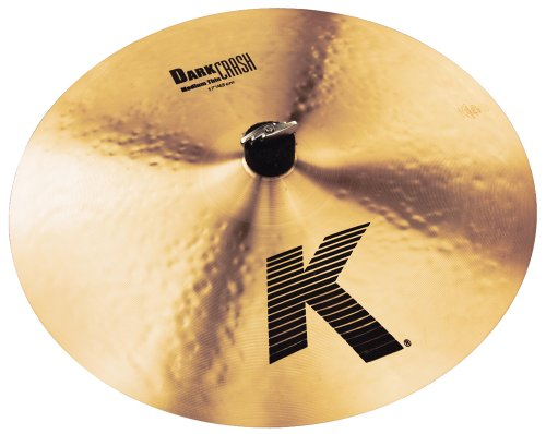 ZILDJIAN K 17 DARK MEDIUM THIN CRASH · PLATO CRASH