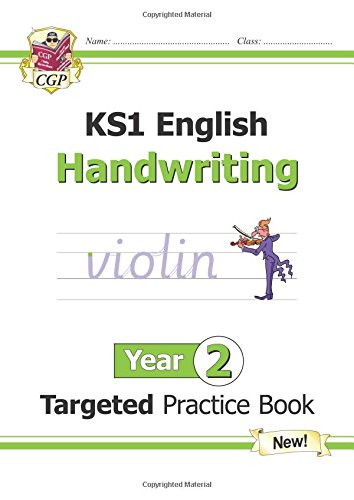 New KS1 English Targeted Practice Book: Handwriting - Year 2 par CGP Books