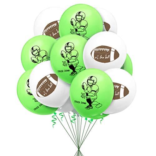JOYOOY Fußballballons American Football Player Ballons Geburtstag Party Hängedeko Party Zubehör für Kinder Party Dekoration 40 Stück