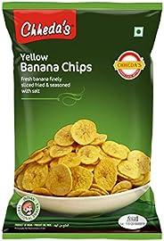 Chheda's Banana Chips - Yellow Banana Wafars - Ready to eat Snack (350gm Pack o
