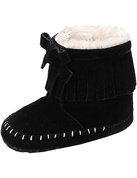 Hunpta Neugeborene Aufwärmen Schuhe Baby Mädchen Soft Sole Booties Schnee Stiefel Infant Kleinkind