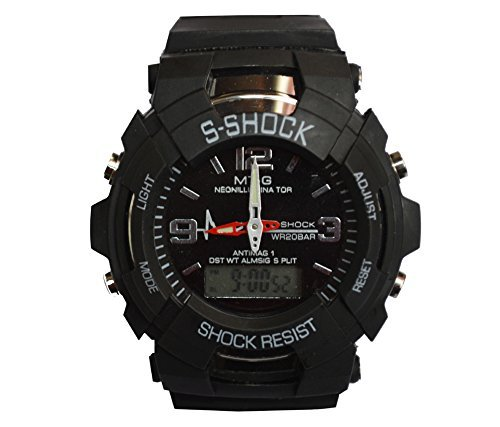 BLUTECH Sports Digital-Analog Black Dial for boys_kids watch