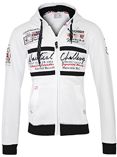 GEOGRAPHICAL NORWAY Hombre Diseñador Capucha Chaqueta - GOASTING -XL