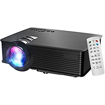 projecteur video videoprojecteur hd led retroprojecteur portable projector home cinema 1200. Black Bedroom Furniture Sets. Home Design Ideas