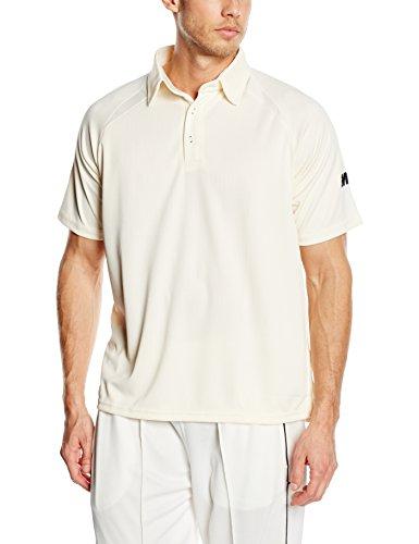 GM Gunn and Moore Men's Teknik Club Short Sleeve Cricket Shirt