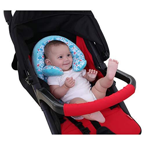 DIVAND Kleinkind-Kleinkind-Kopfstütze, Nackt-Support für Autositz/Stroller, Soft und Komfortables Cartoon Animal Children Travel Headrest-2 Jahre altes Baby-Geschenk