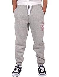 Zoo York pantalón chándal hombre niño hip hop corte ajustado polar pantalones deportivos