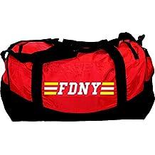 "Medium-borsa pompiere ""FDNY"", 62 x 30 cm, 55 L"