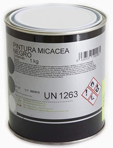 PINTURA METALICA EFECTO FORJA (1 KG, NEGRO)