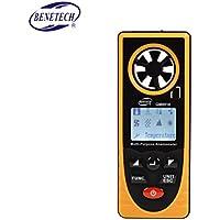 Befaith GM8910 Multifunktions Digital Anemometer Wind Chill Taupunkt Luftdruck Tester -40-10 Grad