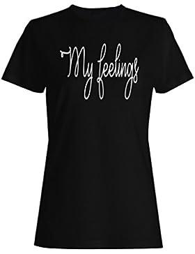 Mi novedad divertida de los sentimientos camiseta de las mujeres d290f