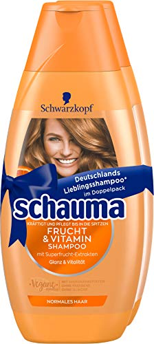 Schwarzkopf Schauma Shampoo 2er Frucht & Vitamin, 1er Pack (1 x 800 ml)