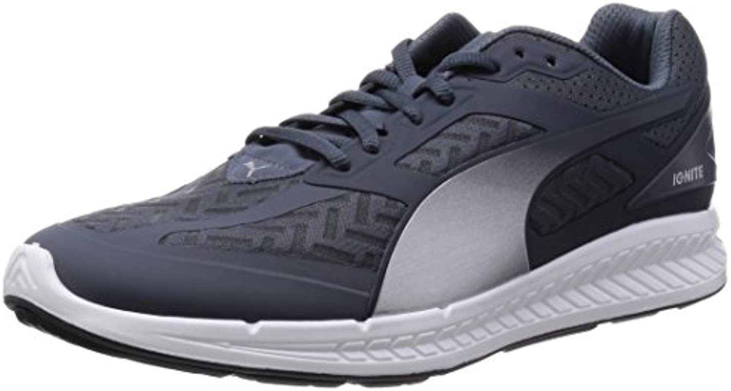 Puma Ignite Powercool Men Running Shoes Fitness Jogging 188076 03 grey
