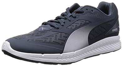 Puma Men's IGNITE PWRCOOL Turbulence-Puma Silver Mesh Running Shoes - 12UK/India (47EU)
