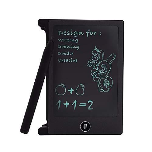 YWLINK 4,4 Zoll LCD Tablette Doodle-Board Schreibblock FüR Kinder Digital Ewriter Grafiktabletts Mini Schreibtafel Papierlos Notepad FüR Kinder ÜBer Jahre 3 Geburtstag Geschenk Puzzle Spielzeug