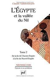 L'Egypte et la vallée du Nil, tome2 : De la fin de l'Ancien Empire à la fin du Nouvel Empire