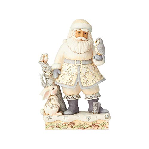 Heartwood Creek Woodland Santa With Animals Figurine -