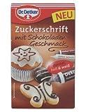 Dr.Oetker - Zuckerschrift mit Schokoladengeschmack - 75g