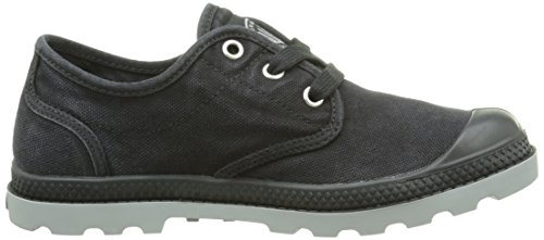 PalladiumUs Oxford Lp F - Sneaker Donna Nero (Black/wild Dove)