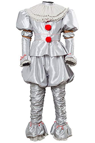 Es Clown Stephen King Von Kostüm - RedJade IT 2 Pennywise Clown Outfit Cosplay Kostüm Stephen King Erwachsene Herren XL