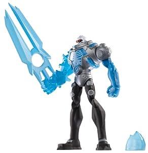 BATMAN - Figuras de acción, Pack Heroe Villano, Mr. Freeze, Color Azul (Mattel X2301)
