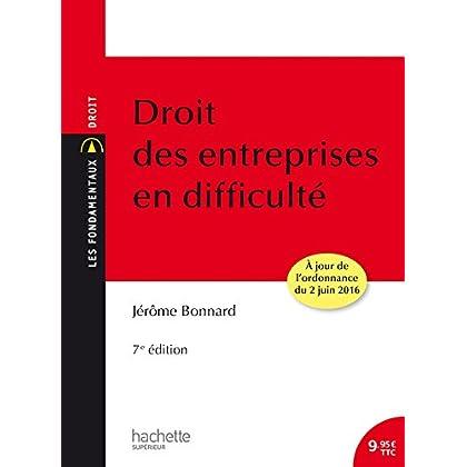 Droit des entreprises en difficulté: 7ème édition