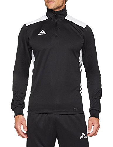 adidas Herren REGI18 TR TOP Sweatshirt, Black/White, XL Running Sweatshirt