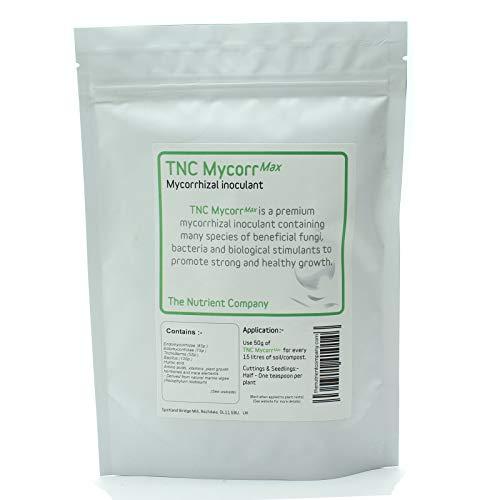 The Nutrient Company TNC MycorrMax - Prima de micorrizas inoculante con Hongos Trichoderma y bacterias (75g)