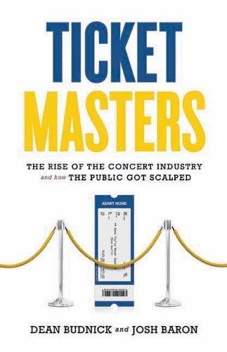ticket-masters-written-by-josh-baron-dean-budnick-2011-edition-publisher-ecw-press-hardcover