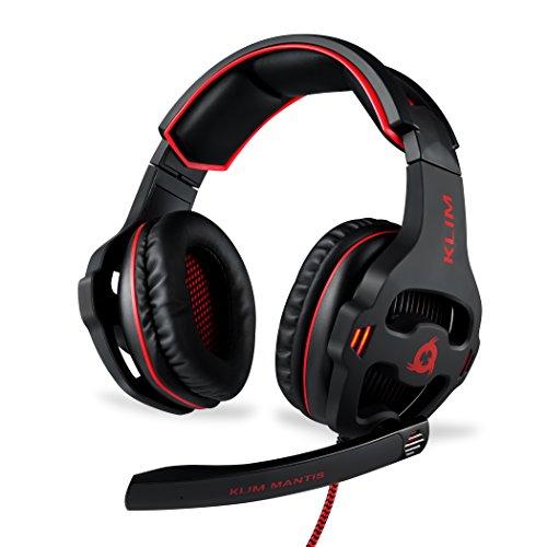 KLIM Mantis - Micro Gaming Headset - USB 7.1 - Hohe Qualität - Für PC PS4 Gaming hergestellt von KLIM