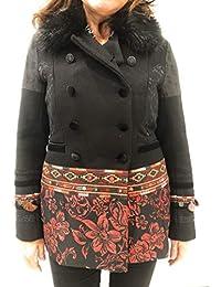 Amazon.it  desigual - 40   Giacche e cappotti   Donna  Abbigliamento 1d0ba9a19ca