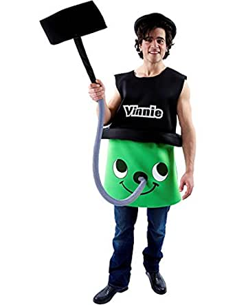 Adult Vinnie the Vacuum Cleaner Novelty Funny Fancy Dress Costume