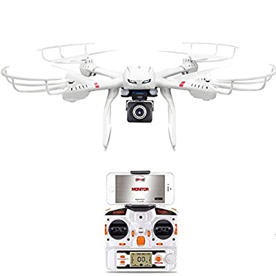 GoolRC X101 Drone with Camera Live Video HD 720P RC WIFI FPV Quadcopter Android/IOS APP Compatible with 3D VR Headset,One-Key Return & Headless Mode & 360 Degree Flips Roll by Goolrc