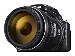 Nikon Coolpix P1000 Digitalkamera (16 Megapixel, 125-Fach optischer Megazoom, 3.2 Zoll RGBW-Display, 4K UHD-Video, WI-Fi)