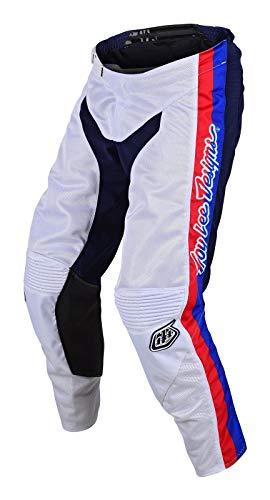 Troy Lee Designs GP Air PreMix 86 Jugend Motocross Hose Weiß/Blau 20 -