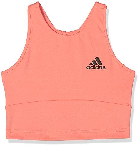 adidas Mädchen Training-CF7213 Sport-BH, Chalk Coral, 164