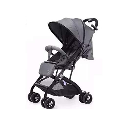 Shisky Sillas de Paseo,Cochecito de bebé de Perfil Alto Carro de conducción Plegable de Estilo Completo con Cuatro Ruedas
