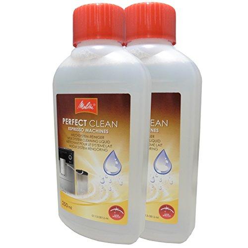 2er Pack Melitta Perfect Clean Milchsystem-Reiniger 1500729