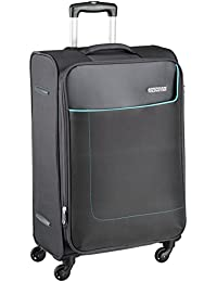 American Tourister Jamaica Polyester 69 cms Grey Softsided Suitcase (27O (0) 08 002)