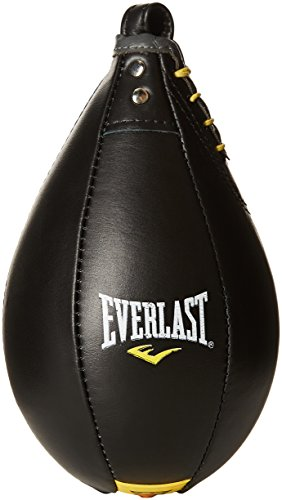 Everlast Erwachsene Boxartikel 4241 Leather Speed Bag (Ediu) Black, M -