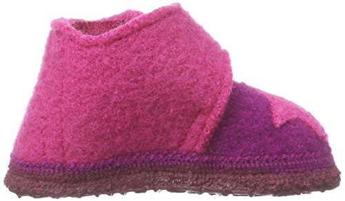 Nanga Stern, Chaussons premiers pas mixte bébé Rose - Pink (Beere 24)