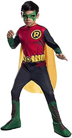 Red Robin Costume Dc - DC Superheroes Robin Costume, Child's Small by