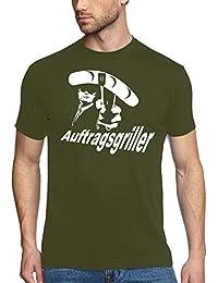 Coole-Fun-T-Shirts Herren T-Shirt GRILL - AUFTRAGSGRILLER - BBQ GRILLSPORT