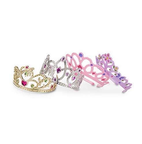 woodienchen - Dress-up Crowns / Tiaras / Kronen im Glamour-Style für Kleine Prinzessinen, 4-teilig, ()