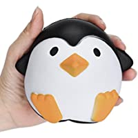 Squeeze Toys, SHOBDW Cute Penguins Bunny Animal Squishy Slow Rising Cream Scented Decompression Funny Cartoon Toys Kids Gifts