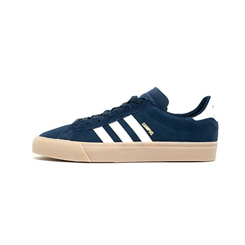 Adidas Skateboarding - Chaussures Skateshoes Homme Campus Vulc Ii - Taille:one Size Collegiate Navy/White/Gum4